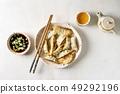 Dumplings Gyozas potstickers 49292196
