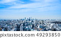 A high-rise building in Tokyo Ikebukuro and the cityscape around Bunkyo and Toshima Wards 49293850
