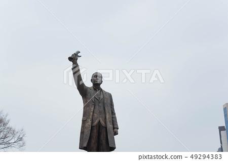 독립문공원 동상 49294383