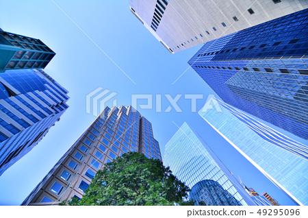 국제도시 서울의 중심가 거리풍경 49295096