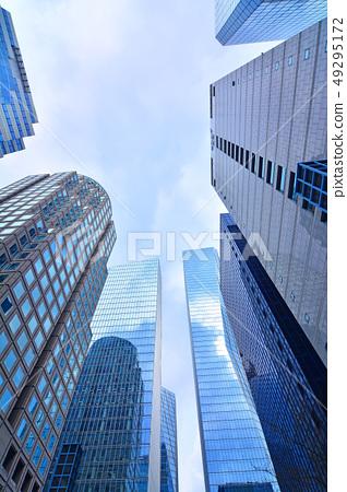 국제도시 서울의 중심가 거리풍경 49295172
