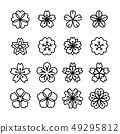 ดอกไม้บาน,ดอกไม้,ดอกซากุระ 49295812