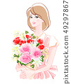 母親節花束2 49297867