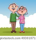 夫妇 一对 情侣 49301071