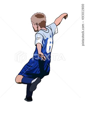 A soccer boy 49301900