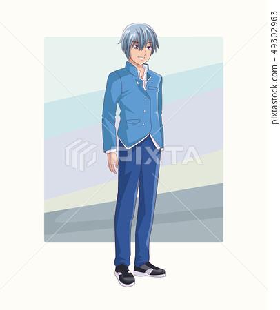 Young man manga anime 49302963