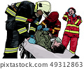Firefighter and Rescuers 49312863