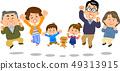 กระโดดครอบครัวสามชั่วอายุคน 49313915
