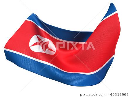 북한 국기 49315965