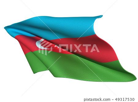 阿塞拜疆國旗 49317530