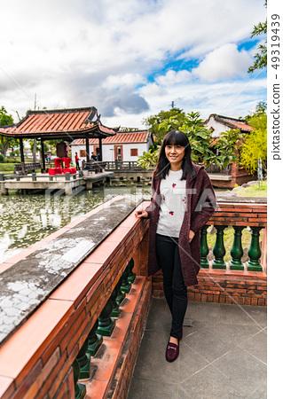 一個古老的中國女人。 49319439