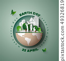 earth day concept 49326819