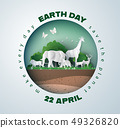 earth day concept 49326820