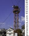 오카야마 쿠라 시키시 코지마 시모 시모 마을 보존 지구 火の見櫓 49330189