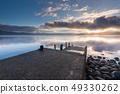在田澤湖的日出 49330262