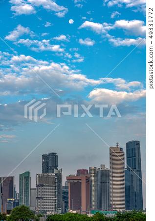 新加坡垂直構成都市風景 49331772