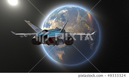 太空飞船 49333324
