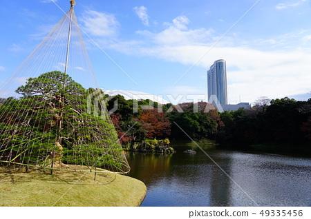 Koishikawa Korakuen Tokyo Dome Tokyo Dome Hotel Blue Sky Autumn 49335456