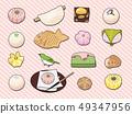 日本甜点 49347956