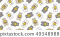 곰, 벡터, 꿀 49348988
