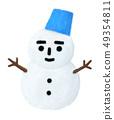 눈사람 49354811