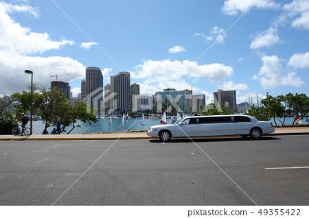 리무진,하와이,미국 49355422