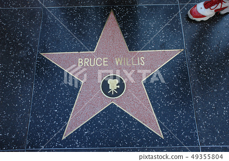 Street of Honor, Hollywood, Los Angeles, California, USA 49355804