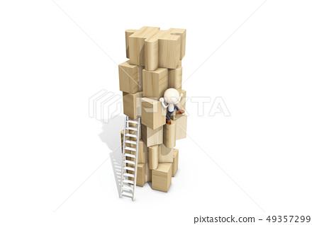 퍼즐,사다리,ICONY 49357299