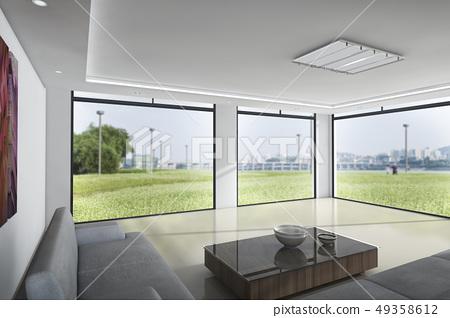 客廳,半坡橋,漢江市民公園,首爾瑞草區 49358612
