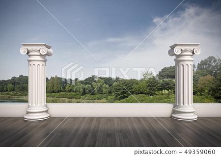 기둥,올림픽공원,송파구,서울 49359060