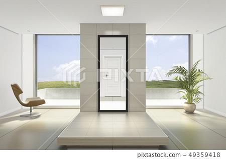 門,椅子,陽台,客廳 49359418