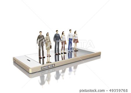 人,智能手機 49359768