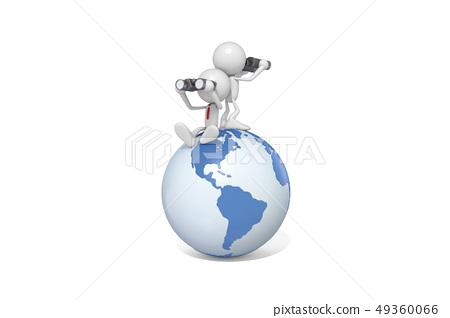 ICONY,비즈니스,아메리카,지구,망원경 49360066