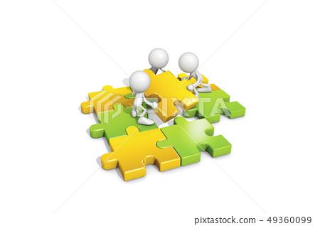 ICONY,비즈니스,퍼즐 49360099