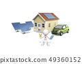 ICONY,商業,汽車,收集板,房子,日元 49360152