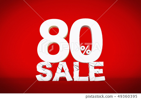 Discount sale, 80,%, number 49360395