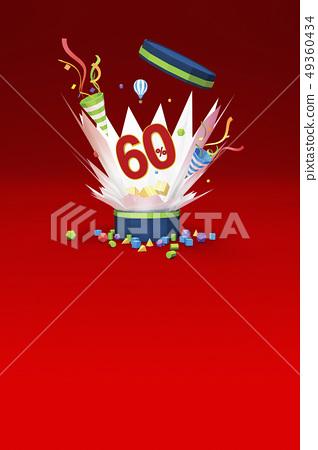 折扣銷售,60%,盒子,鞭炮,熱氣球 49360434