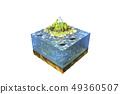 海,漁船,魚,部分 49360507
