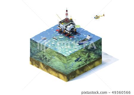 钻船,船舶,直升机,船舶,部分 49360566