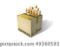 盒子,快遞,卡車 49360593