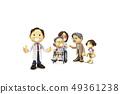 3D,CG,卡通,字符,ICONY,圖,醫院,醫療,醫生,男子,女子,病人,老人,輪椅,兒童,家庭,全身 49361238
