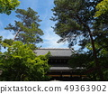Nanzen Temple grounds with fresh greenery 49363902