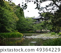 Kyoto Yamashinan Shuji Temple with fresh greenery 49364229