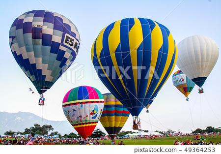 台灣台東熱汽球嘉年華Asia Taiwan Taitung hot air balloon 49364253