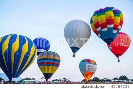 台灣台東熱汽球嘉年華Asia Taiwan Taitung hot air balloon 49364259
