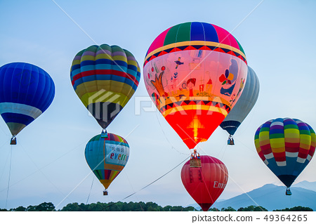 台灣台東熱汽球嘉年華Asia Taiwan Taitung hot air balloon 49364265