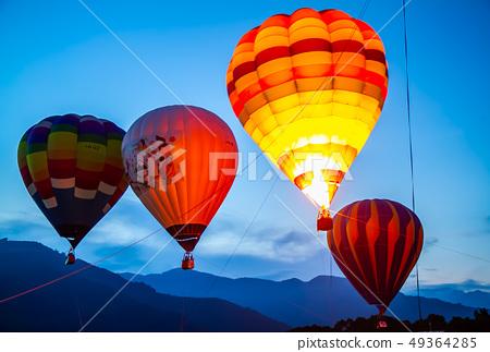 台灣台東熱汽球嘉年華Asia Taiwan Taitung hot air balloon 49364285