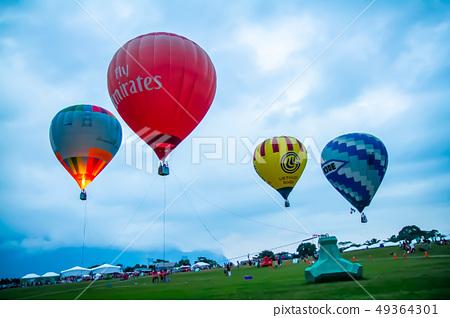 台灣台東熱汽球嘉年華Asia Taiwan Taitung hot air balloon 49364301
