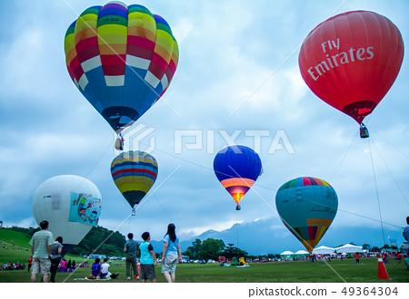 台灣台東熱汽球嘉年華Asia Taiwan Taitung hot air balloon 49364304