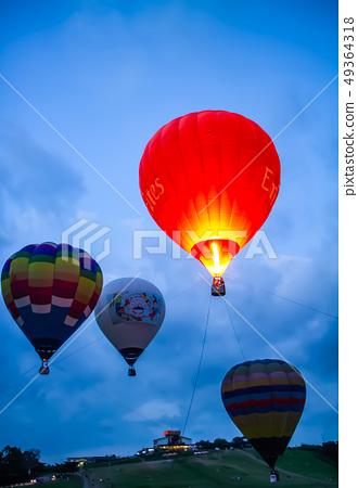 台灣台東熱汽球嘉年華Asia Taiwan Taitung hot air balloon 49364318